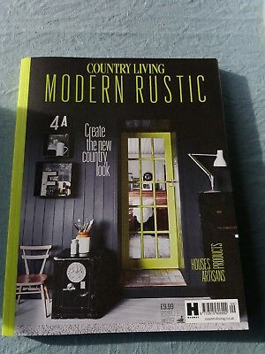 COUNTRY LIVING Modern Rustic Issue #9 As new