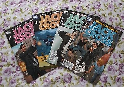 Mrj/ Jack Cross #1-4 (Complete Series) Warren Ellis Gary Erskine Nm
