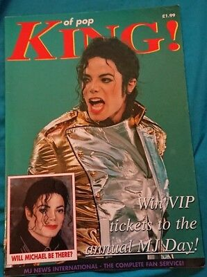 michael jackson king of pop issue 14 magazine very rare