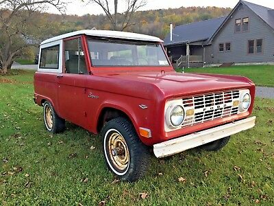 1968 Ford Bronco  1968 Red Ford Bronco