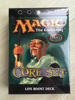 Magic The Gathering 8th Edition Core Set Life Boost Deck Unopened.