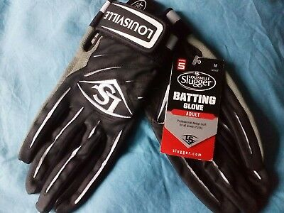 Louisville Slugger Baseball Batting Gloves Mens Size M New With Tags
