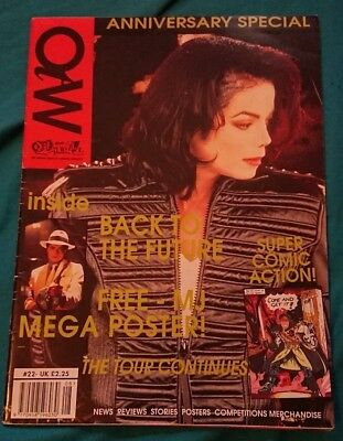 michael jackson off the wall magazine issue 22 very rare
