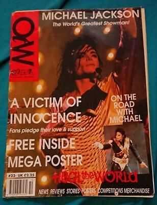michael jackson off the wall magazine issue 23 very rare