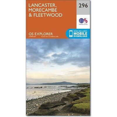 Explorer Maps: Lancaster & Forest of Bowland- 2 map set  296 & OL41