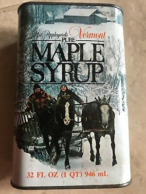 Vermont Pure Maple Syrup Tin 1qt