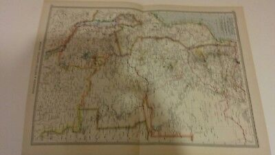 map of Rhodesia africa