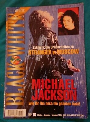 michael jackson black or white magazine issue 16 very rare