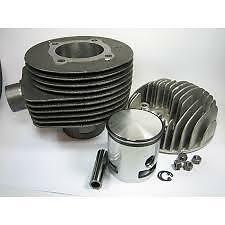 Vespa LML 5 Port 150 Kit Cylinder Barrel Piston Kit with Head 125cc 150cc