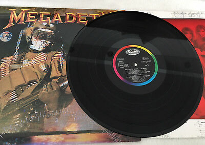 "MEGADETH ""So Far So Good So What"" LP originale 1988 Pressung Capitol Records"