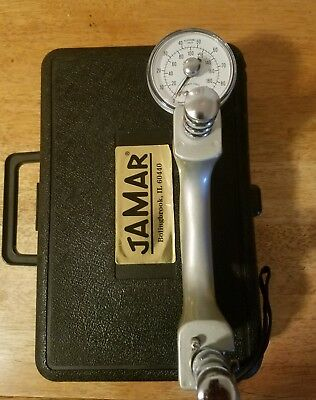 Jamar Hand Adjustable Hydraulic Dynamometer with Case