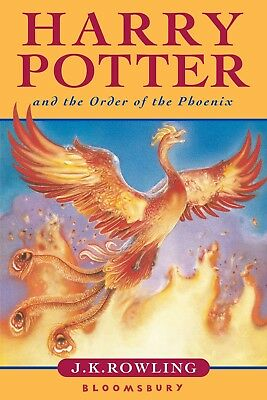 Harry Potter and the Order of the Phoenix (Book 5) by J.K. Rowling in PDF FORMAT