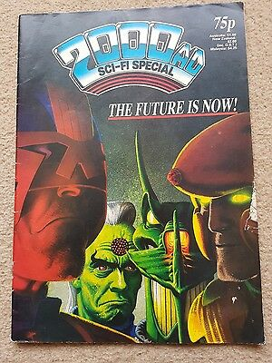 2000ad Sci-fi Special 1987