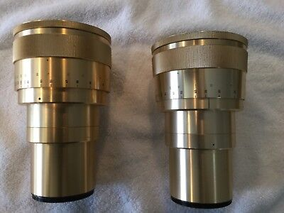 35 mm anamorphic lens made in Germany excellent condition no burn marks.