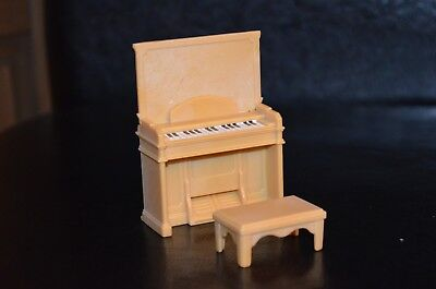 Sylvanian Families - Forest Nursery Spares - Piano With Stool  - Sy78