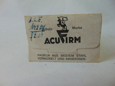 Acufirm Antique medical surgery sewing needle Chirurgische Nadeln