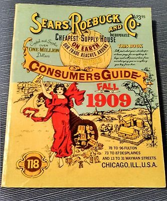 Sears Roebuck & Co. Consumers Guide Fall 1909 - 1979 Reproduction -