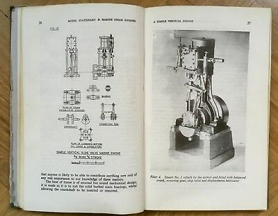 Model Stationary and Marine Steam Engines by K.N. Harris. Live-steam.