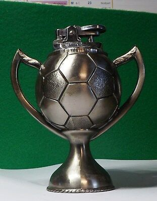 Briquet-Lighter-Feuerzeug-accendino Trophée FOOTBALL coupe ballon
