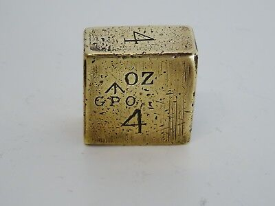 Gewicht 4 Oz, Briefwaage England, Weight, Letter Scales