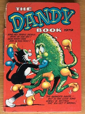 The Dandy Book Annual 1979. Unclipped. Comic Annual. Beano Beezer Topper