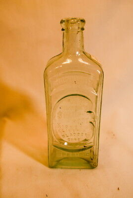 Vintage 1800S Dr Kilmers Swamp Root Medicine Bottle