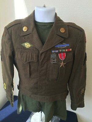 WW2 US Army Ike Jacket, 9th Army and 13th Corps