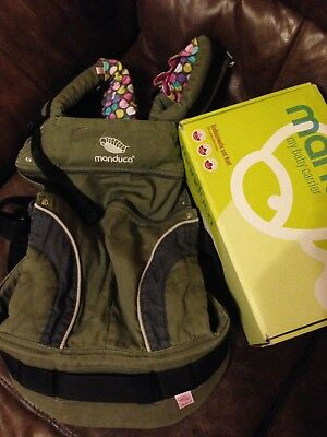 Manduca baby carrier, olive