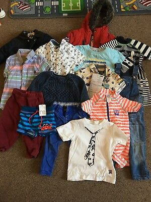 Boys 12-18 Months Clothes Bundle 14 Items Toddler (most items from next)
