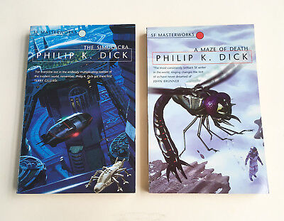 PHILIP K DICK SF Masterworks Simulacra A Maze of Death