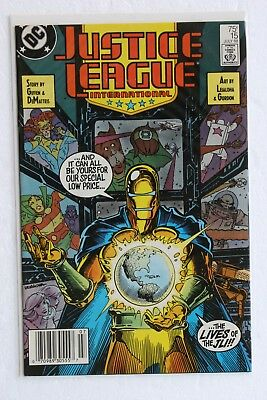 Justice League International 15 (the lives of the JLI)
