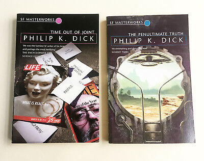 PHILIP K DICK SF Masterworks Time Out Of Joint - Penultimate Truth