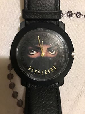Michael Jackson Promotional Dangerous Album Watch Very Rare