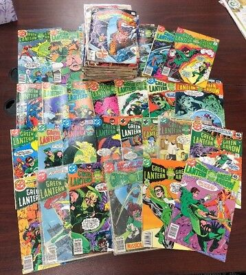 Lot of 69 DC MARVEL Comics Copper Age GREEN LANTERN GI JOE STAR WARS MORE!