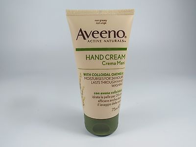 Aveeno Hand Cream Colloidal Oatmeal 24Hr 75ml