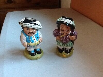 Royal Doulton Mansion House Dwarves-Father & Son-Boxed with Certificates