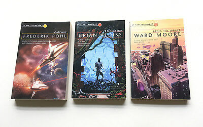 SF MASTERWORKS COLLECTION Aldiss Non-Stop POHL Gateway MOORE Bring The Jubilee