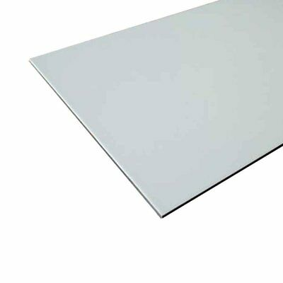"""Sibe-R Plastic Supply - Aluminum Composite Sign Panel Sheet, 1/8""""x6""""x6"""" Pack Of"""