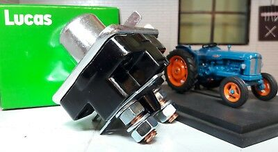 Fordson Power Major Super Dexta Tractor Starter Ignition Relay Switch SRB325