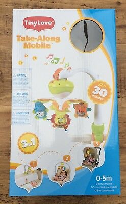 Tiny Love Take Along Mobile (Musical Mobile for Crib, Travel Cot, Car Seat etc)