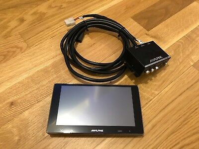 ALPINE TME-S370 6.5 INCH WVGA Touch Screen Monitor, Rear Seat Monitor