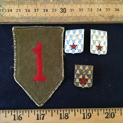 First Division shoulder patch with 16th infantry regiment DUIs