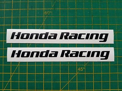 Honda Racing decals x 2