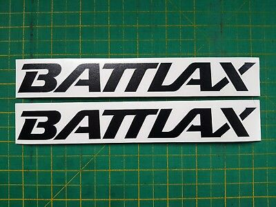 Bridgestone BATTLAX DECALS x 2