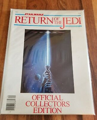 Star Wars Return of the Jedi Official Collectors Edition Magazine 1983