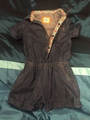 mini boden Girls Playsuit Age 4-5