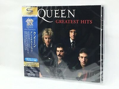 Queen Greatest Hits SHM-CD 40th Anniversary with Japan Limited Track from Japan