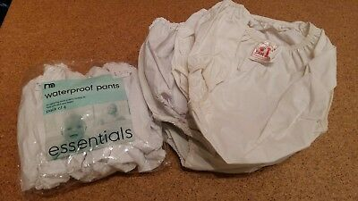 Selection of plastic pants some new some used