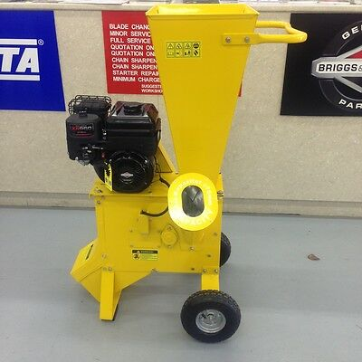 Greatbull Chipper Shredder Briggs and Stratton 6.5 hp Engine