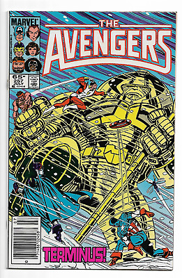 Avengers 257 NM/VF KEY 1st appearance of Nebula (Thanos, Guardians of the Galaxy